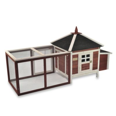 Advantek 'Prairie Home' Poultry Hutch in Auburn