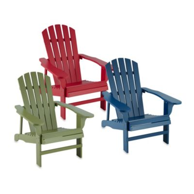 Buy Outdoor Adirondack Chairs From Bed Bath Amp Beyond
