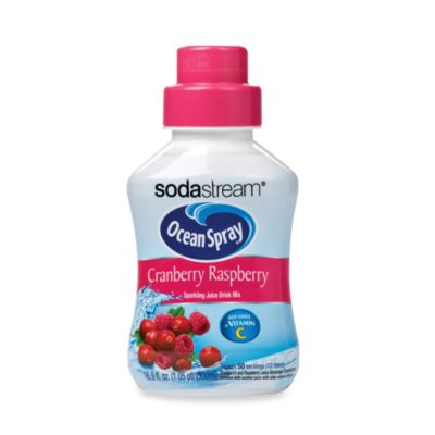 SodaStream Ocean Spray® Cranberry Raspberry Sparkling Drink Mix