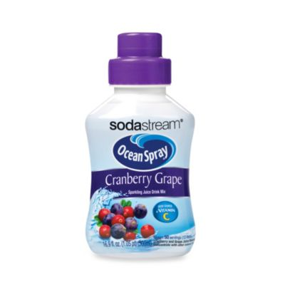 SodaStream Ocean Spray® Cranberry Grape Sparkling Drink Mix