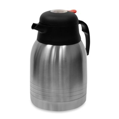 Primula Double Wall Stainless Steel 2-Liter Thermal Carafe with TempAssure Technology