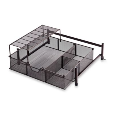 Simple Solutions Wide Mesh Cabinet Drawer in Matte Bronze