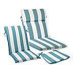 Outdoor Patio Cushion Collection in Cabana Stripe