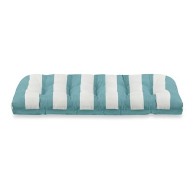 Settee Cushion in Cabana Stripe