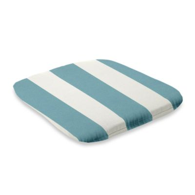 2-Inch Thick Chair Cushion in Cabana Stripe