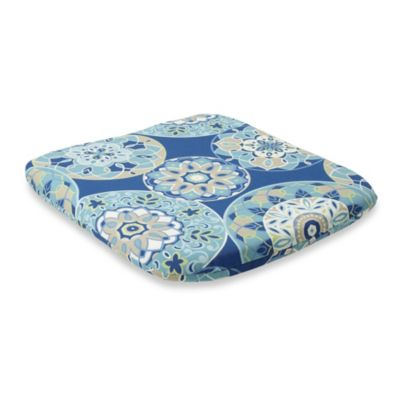 2-Inch Thick Chair Cushion in Circles