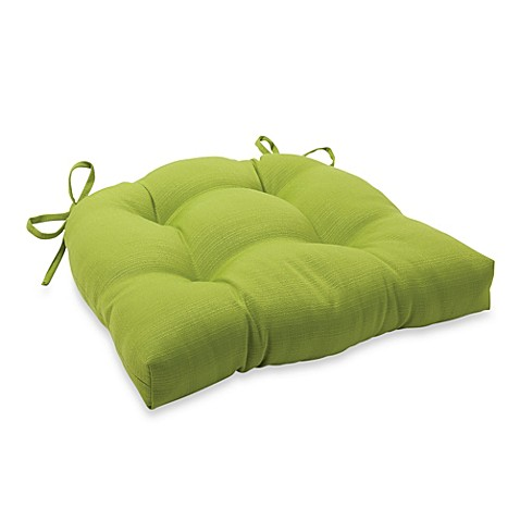 Buy 3 5 Inch Thick Tufted Cushion With Ties In Kiwi From