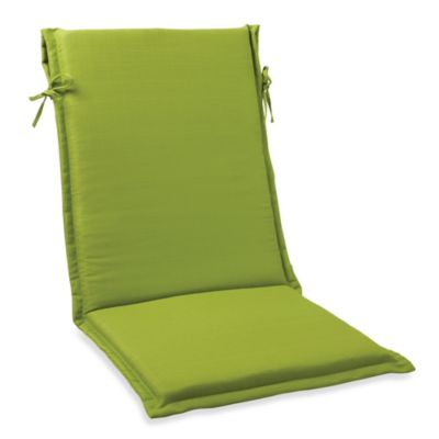 Sling Cushion with Ties in Kiwi