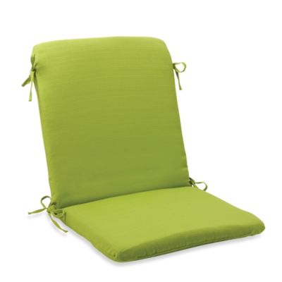 Mid-Back Cushion with Ties in Kiwi