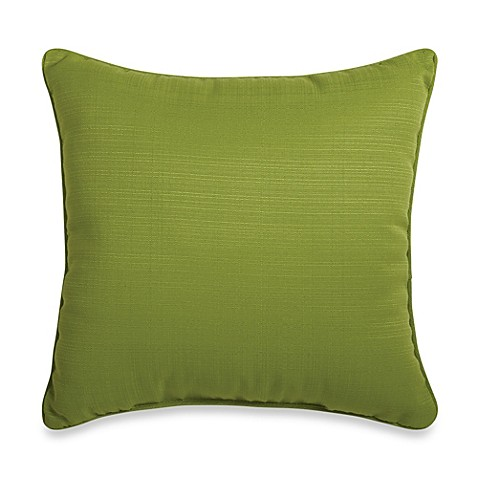 20 Inch Square Decorative Pillows : 20-Inch Square Throw Pillow in Kiwi - Bed Bath & Beyond
