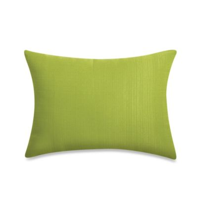 12-Inch x 16-Inch Rectangular Toss Pillow in Kiwi