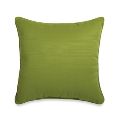 17-Inch Square Toss Pillow in Kiwi