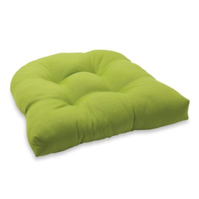 4.5-Inch Thick Tufted Cushion in Kiwi