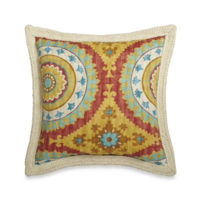 Aqua Decorative Pillow