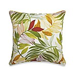 20-Inch Square Toss Pillow in Leaf