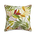 17-Inch Square Toss Pillow in Leaf