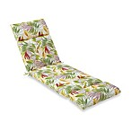 Chaise Cushion in Leaf