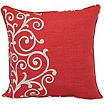 17-Inch Outdoor Toss Pillow in Shoulder Stripe