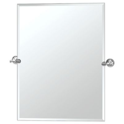 Gatco® Bridgeway Rectangle Mirror in Chrome