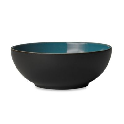 Denby Duets Soup/Cereal Bowl in Brown/Turquoise