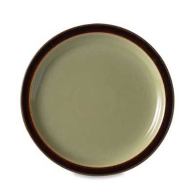 Denby Duets Salad/Dessert Plate in Chestnut/Apple