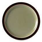 Denby Duets Dinner Plate in Chestnut/Apple