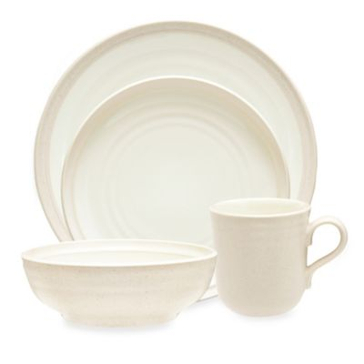 Noritake® Colorvara 4-Piece Place Setting in White