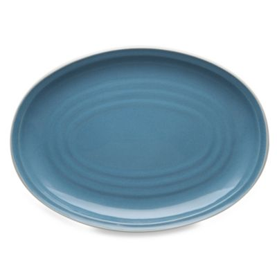 Noritake® Colorvara 16-Inch Oval Platter in Blue