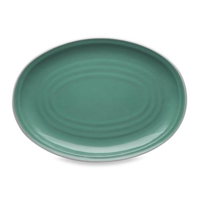 Noritake® Colorvara 16-Inch Oval Platter in Green
