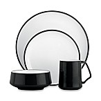 Kobenstyle 4-Piece Place Setting in Black