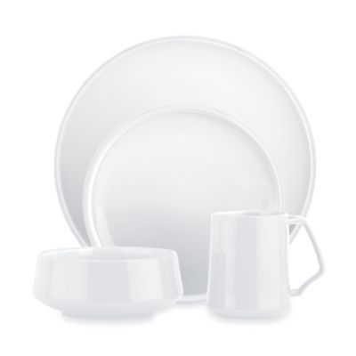 Dansk® Kobenstyle 4-Piece Place Setting in White