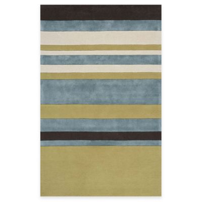 Rugs America Millennium 2-Foot 3-Inch x 8-Foot Rug in Cool Tropics