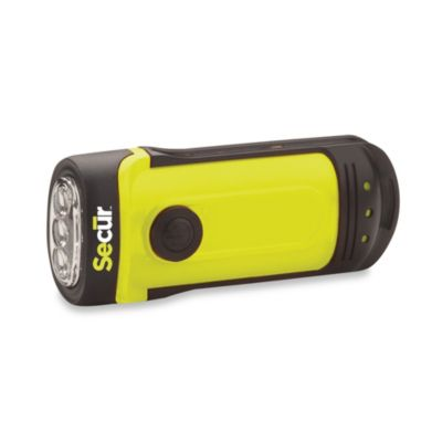 Secur Dynamo-Powered Waterproof LED Flashlight