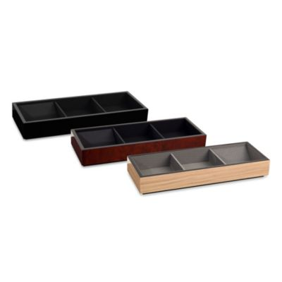 Meridian Valet Top Tray in Black