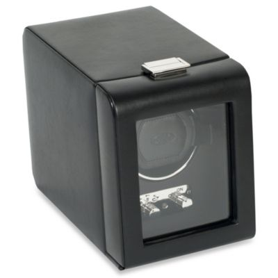 Wolf Designs Module 2.1 Heritage Single Watch Winder with Black Cover
