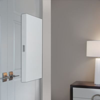 Cabidor® Concealable Hinge-Mounted Mini Storage Cabinet