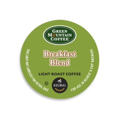 K-Cup® 36-Count Green Mountain Coffee® Breakfast Blend Coffee for Keurig® Brewers