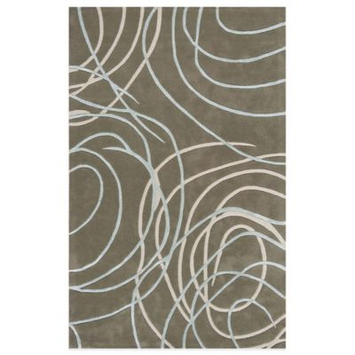 Rugs America Millennium 7-Foot x 9-Foot Rug in Horizon Grey