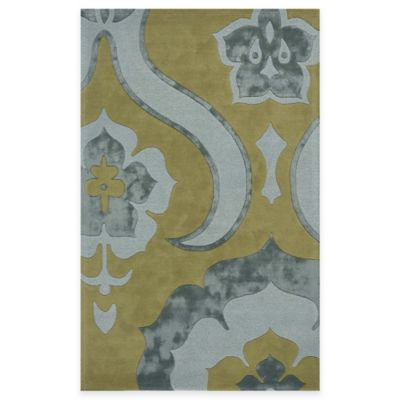 Spring Gold Area Rugs