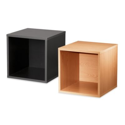 Foremost Open Cube in Black