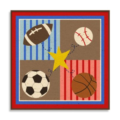 Sports Wall Plaque I