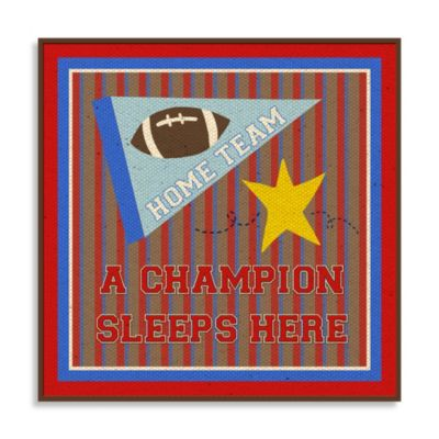 Sports Wall Plaque II