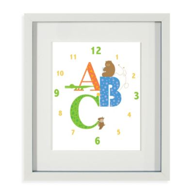 Easy As ABC Framed Wall Art