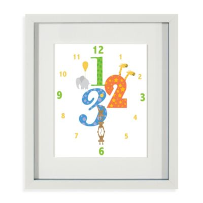 Easy As 123 Framed Wall Art