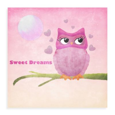 Owl Canvas Wall Art II