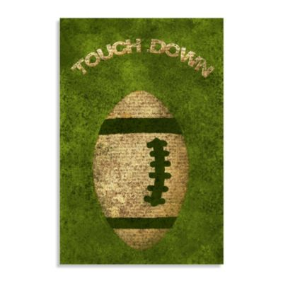 Touch Down Canvas Wall Art