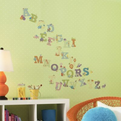 Dena™ Happi Tree Animal Alphabet Peel and Stick Wall Decals (Set of 43)