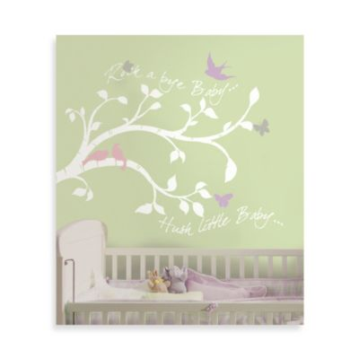 RoomMates ONE Décor Rock-a-Bye Branches Giant Wall Decals