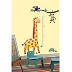 RoomMates Jungle Adventure Giraffe Peel & Stick Growth Chart
