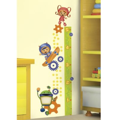 RoomMates Team Umizoomi Peel & Stick Growth Chart